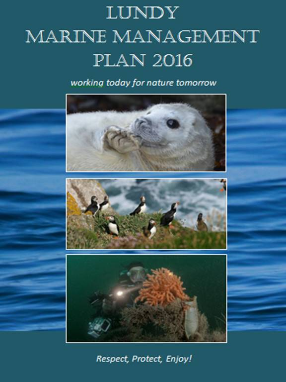 Lundy's Marine Management Plan