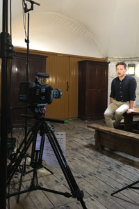 Iestyn Davies interview at the Martello Tower, Landmark Trust
