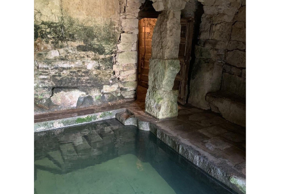 The Bath House plunge pool