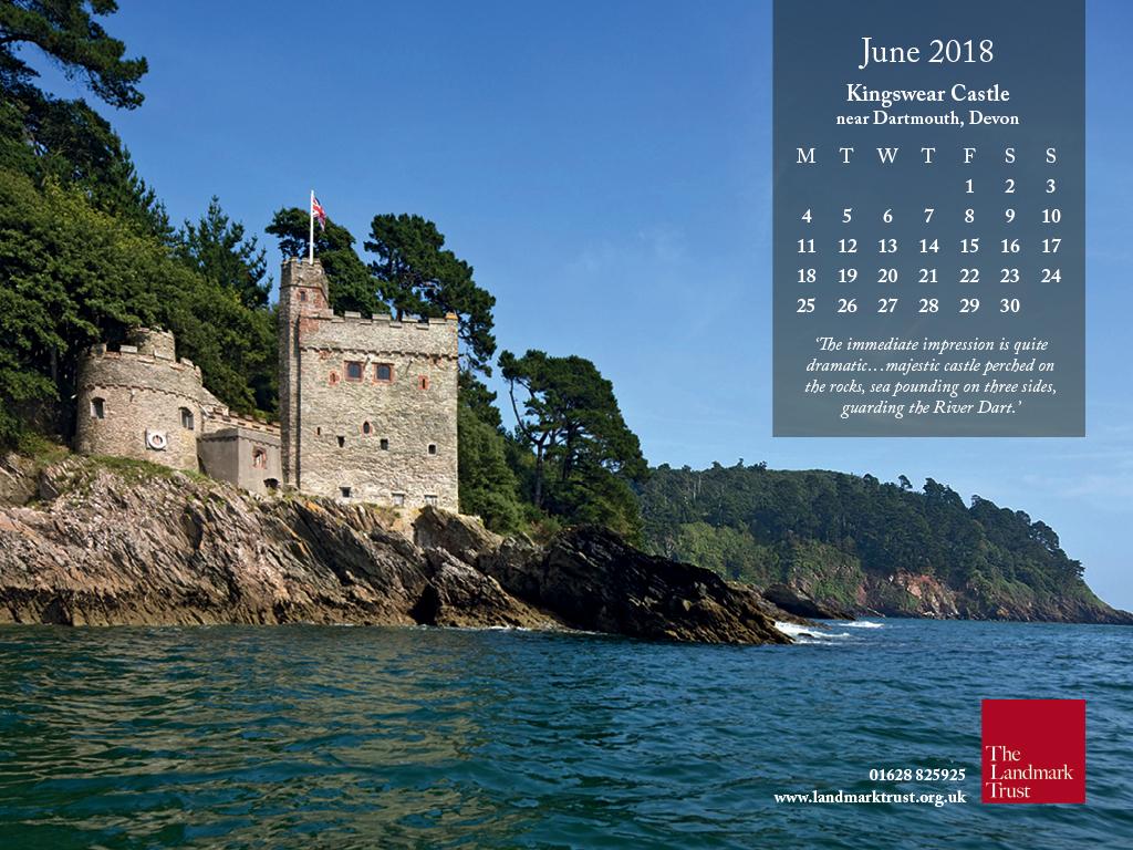 Downloadable Landmark Wallpaper Calendar