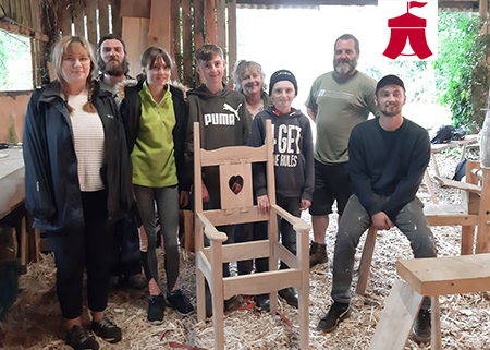 Voysey chair making training