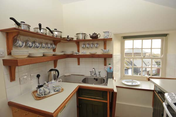 Holiday at 3rd floor egyptian house in penzance cornwall for Kitchen designs egypt