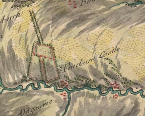 1747-52 Roy Military Map of Scotland