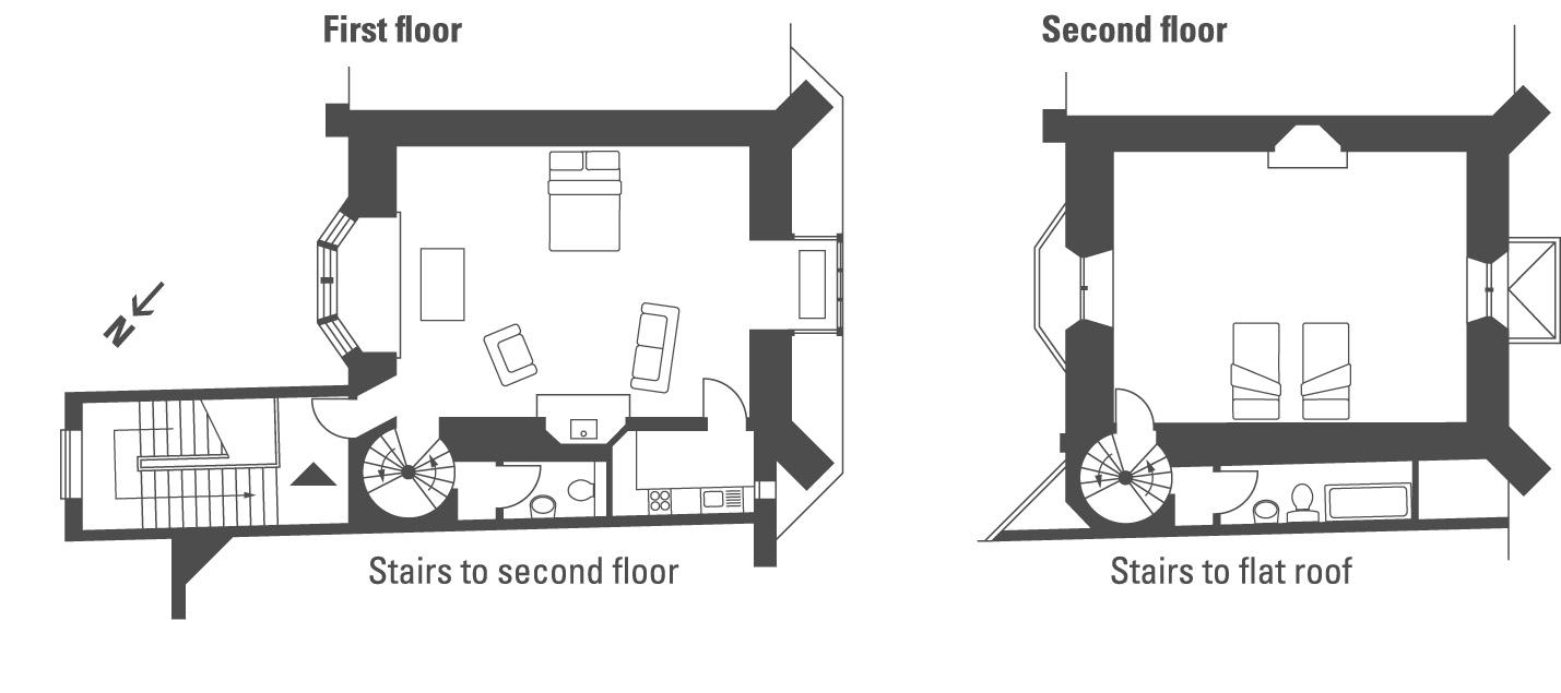 Holiday At Cawood Castle In North Yorkshire The Landmark Trust Venison Cuts Diagram Floor Plan