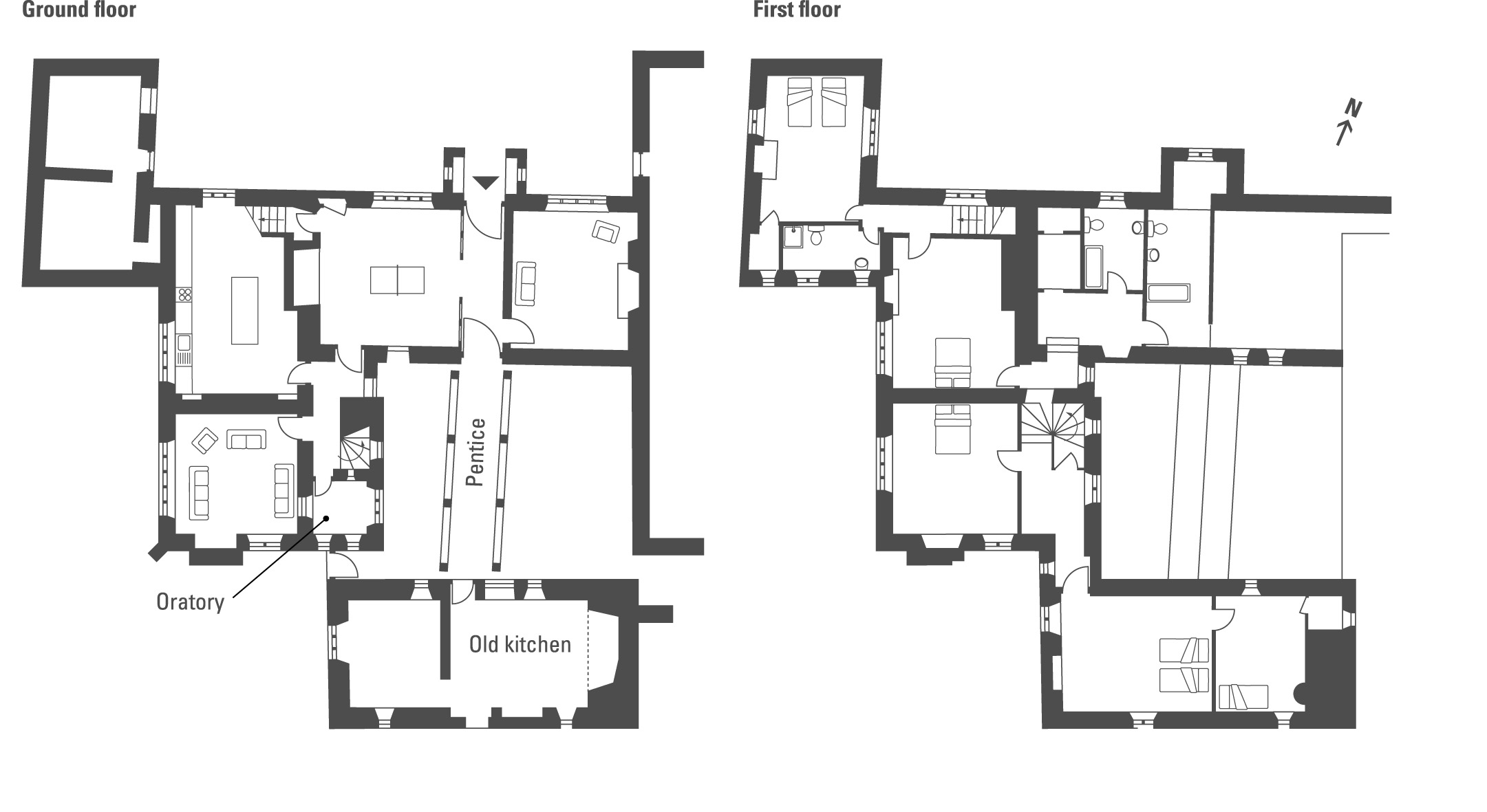 Elizabethan manor house floor plan for Manor floor plans