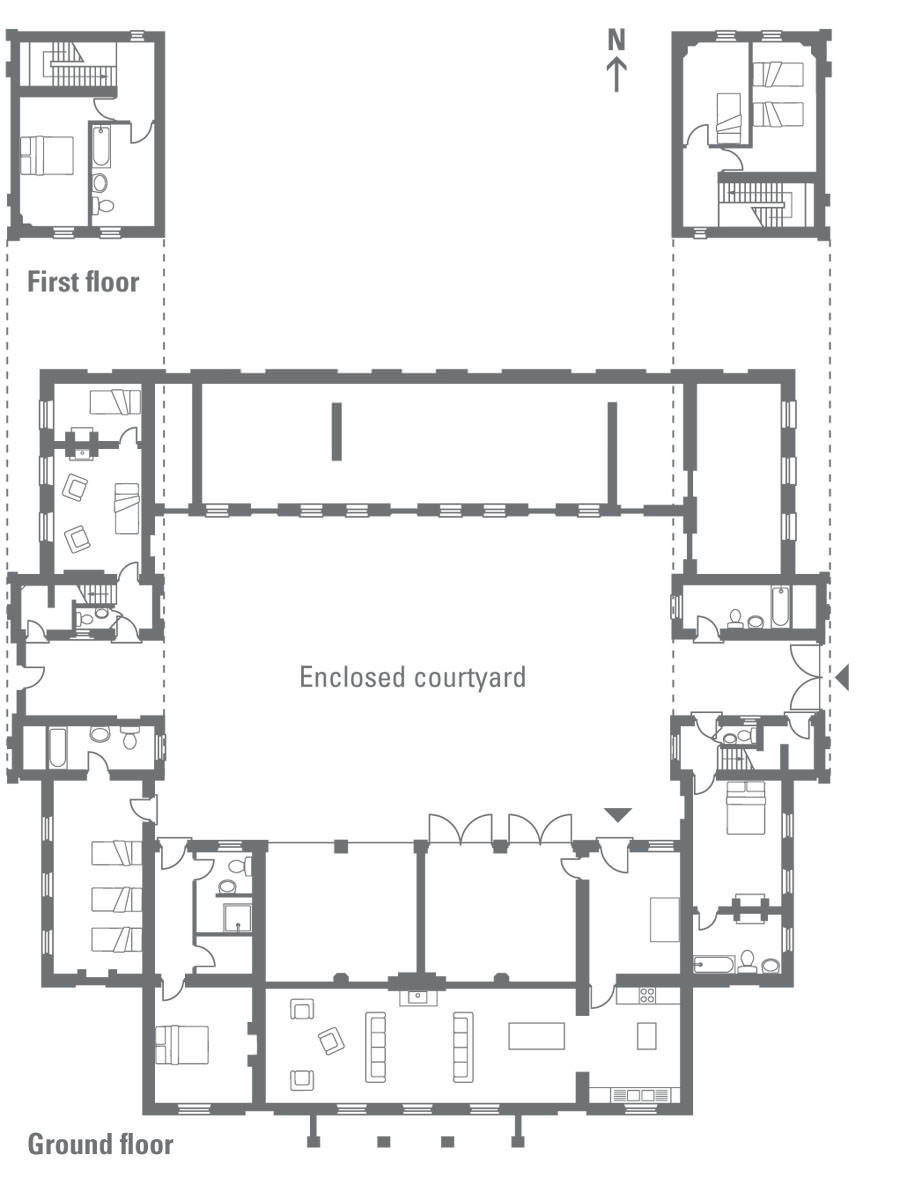 Barn Home Floor Plans With Living Quarters