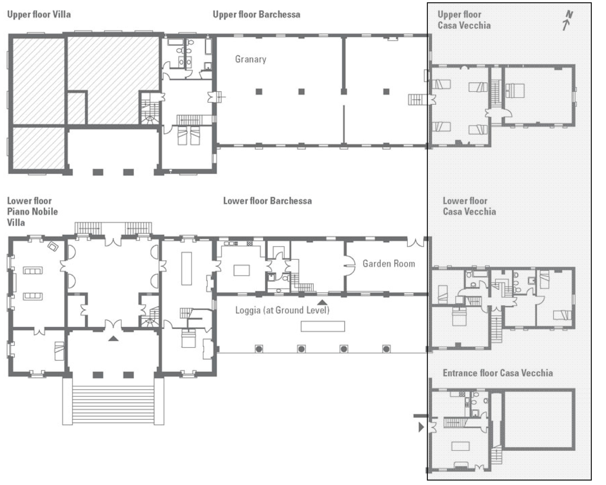 Italian Villa Blueprints Home Design
